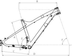 Carbon Hardtail High Modulus 27,5