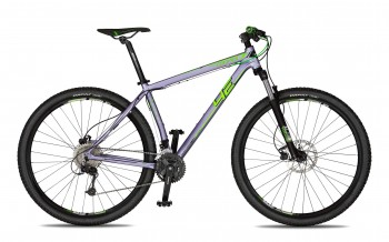"CONVEX 29"" - stříbrná/neon zelená"