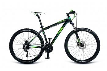 CONVEX - černá matt./zelená