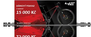 5x Poukázka na nové kolo v hodnotě 15000 Kč