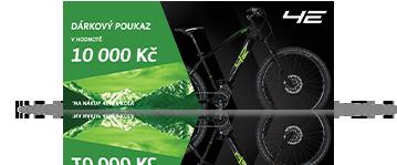 10x Poukázka na nové kolo  v hodnotě 10000 Kč