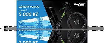 15x Poukázka na nové kolo  v hodnotě 5000 Kč